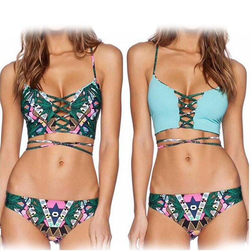 US  18.74 brasil Bikini 2016 Baru Reversibel Hijau Floral...US  12.38 push  up swimsuit padat sexy ... 369aa03abb