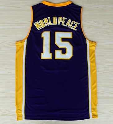 metta world peace jersey