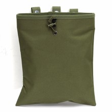 Tactical Molle Dump Magazine Pouch Hunting Airsoft Waterproof Recovery Bag Drop Pouch Military Accessories 29x25cm