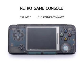 EastVita Retro Handheld Game Console 3.0 Inch Console Built-in 818 Classic Games Support For NEOGEOGBCFCCP1CP2GBGBA