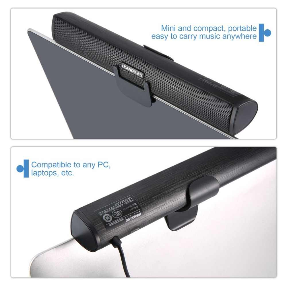 מיני נייד USB 2.0 מקל Soundbar רמקול סאב רמקול נייד רמקול עבור מחשב נייד מחשב Tablet PC זרוק חינם