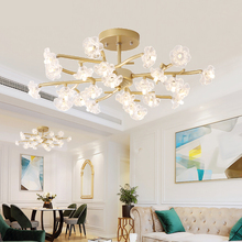 TRAZOS Ceiling lamp Golden/Black Grass modern style Creative Room LED Northern Europe Bedroom lamps Free Delivery