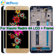 "Xiaomi Redmi 4A LCD Display Touch Screen Digitizer Assembly with Frame Replacement Parts +Tools 5.0"" Display Xiaomi Redmi 4A LCD(China)"