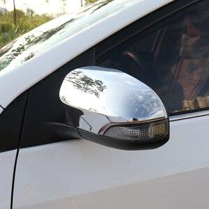 Image 1 - E170 WELKINRY רכב אוטומטי כיסוי לטויוטה קורולה Altis 2013 2014 2015 2016 2017 ABS chrome צד אגף פנדר trim מראה האחורית