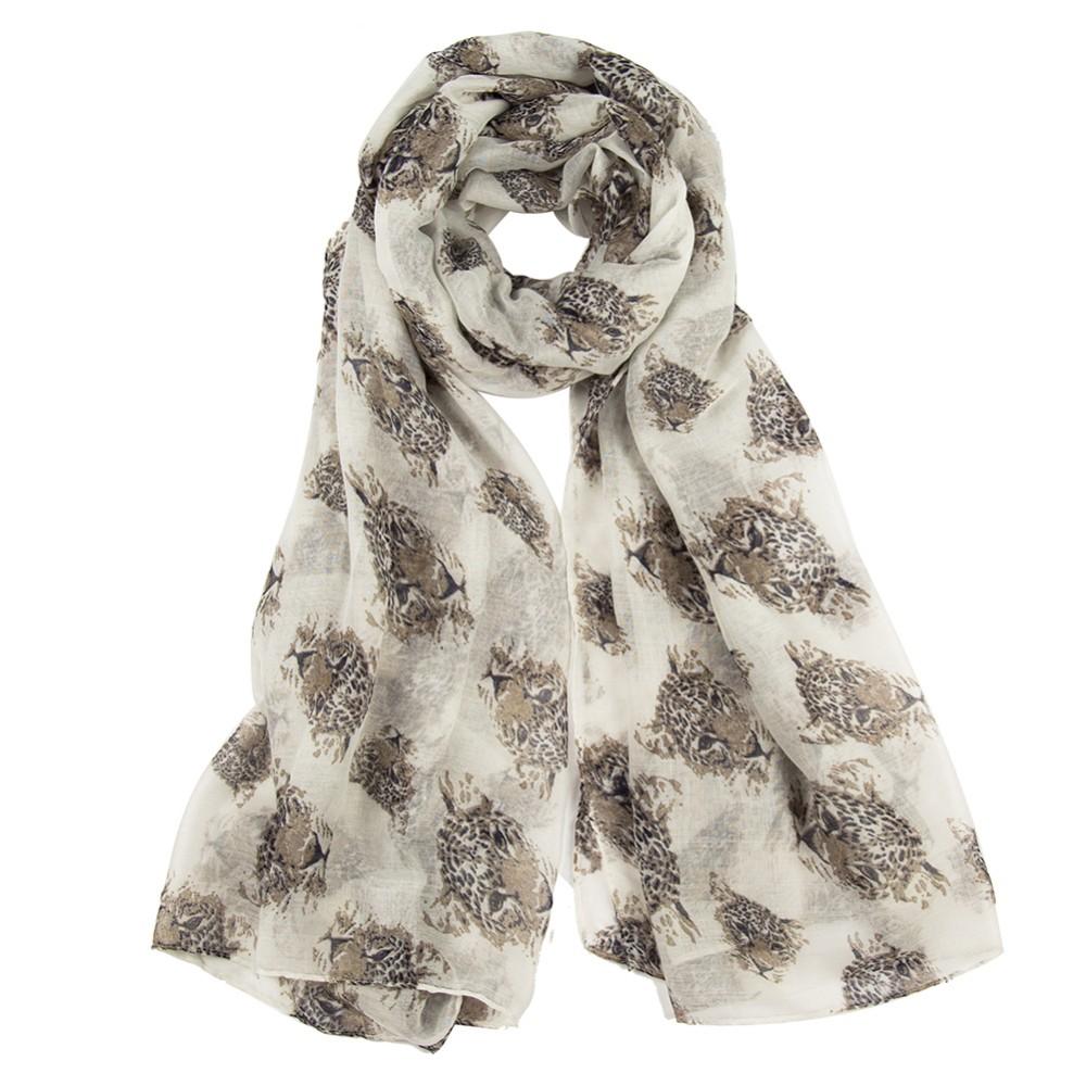 Sexy Leopard Lady Scarves | Lightweight Scarves