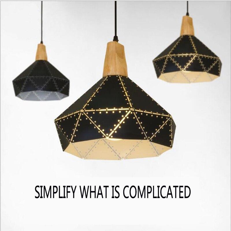 ФОТО Attractive Pendant Lamps suspension luminaire dinning room coffee shop kitchen modern Pendant Lights E27 American home lighting