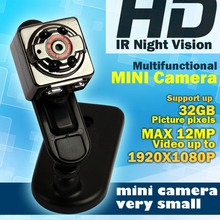 Spy Mini Camera HD 1080P 720P High Efficiency Mini Camera SQ8 DV Video Recorder Infrared Night Vision Digital Camera Recorder