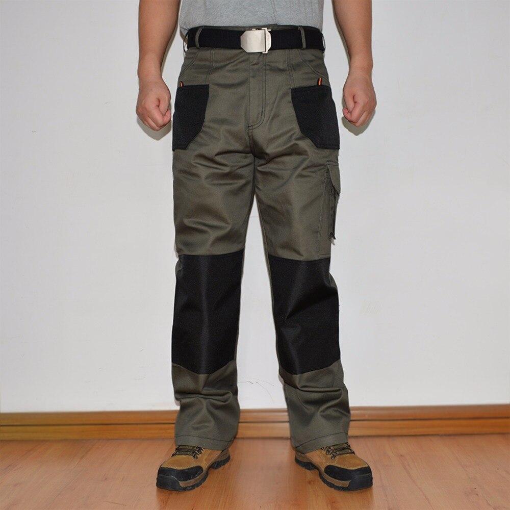 Мужские брюки карго военно-Тактические Пант нескольких Карманный полной длины брюки рабо ...