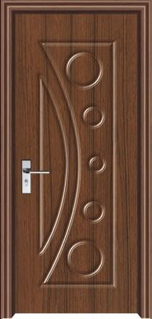 Paint Free Interior Door Customize Wooden Door Solid Wood Compound Door Pvc Indoor  Door Set Xf