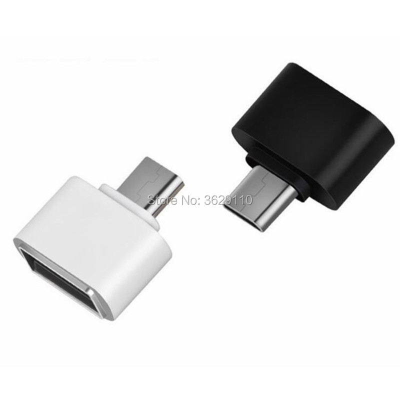 Hopetoth 2000pcs OTG Type-C/USB Type C Adapter Type-C Converter For MacBook Xiaomi For Android Phones USB 3.0 Adapter