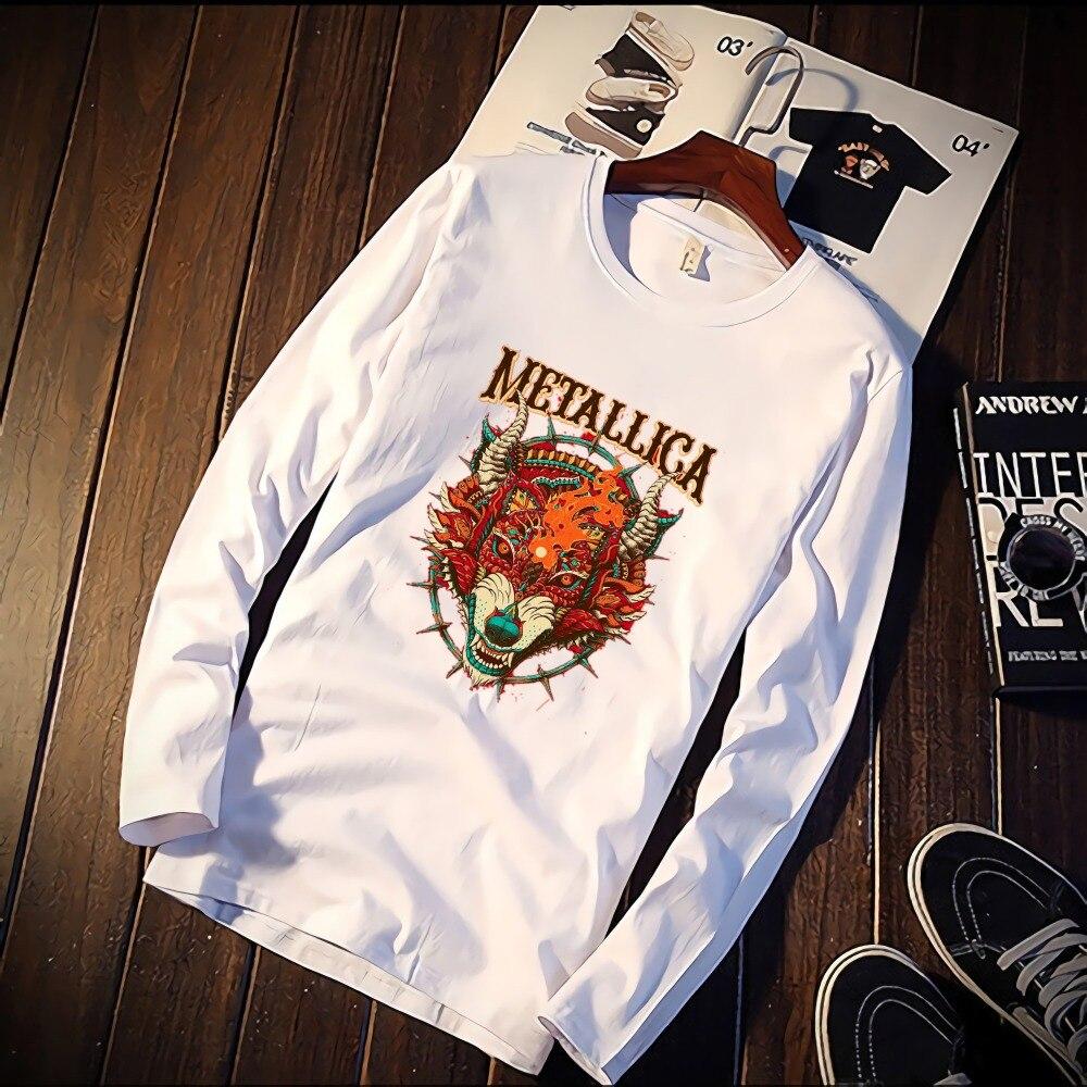 5bb40b28c Detail Feedback Questions about Harajuku Aesthetics Metallica Band ...