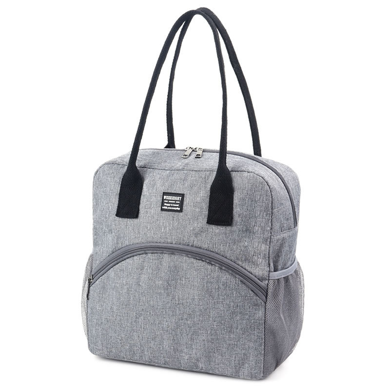 Insulated Luch Bag Women Men Oxford Lunch Bag Thermal Large Capacity Picnic Food Box Bag Hand Bags