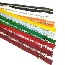 CNCRAFT 8 adet köpüklü 5 # Yüksek Kalite Renkli Open-End Reçine Fermuarlar Terzi Giyim Çanta Ev Tekstili Dikiş El Sanatları U PI...