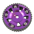Xpower- ALUMINUM PURPLE RACING ENGINE CAM GEAR 4G15 1.5L ENGINE MIT MIRAGE/COLT/SUMMIT