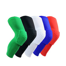 Basketball knee pads honeycomb anti-collision equipment anti-fall and long leggings sports male professional children