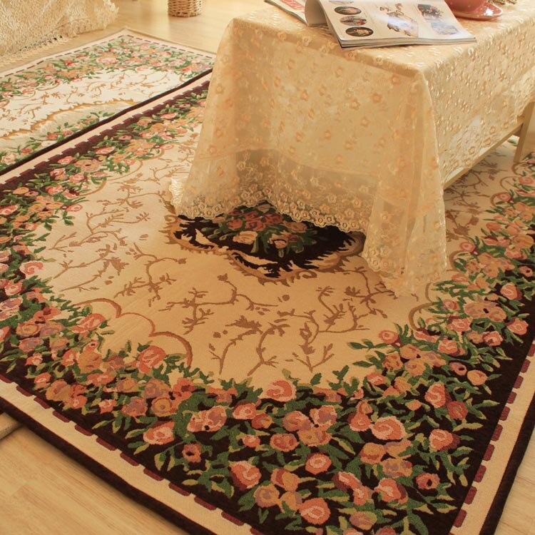 Tapis américains européens de salon de 190 cm * 130 cm, tapis de plancher de table basse, tapis pour le salon - 2