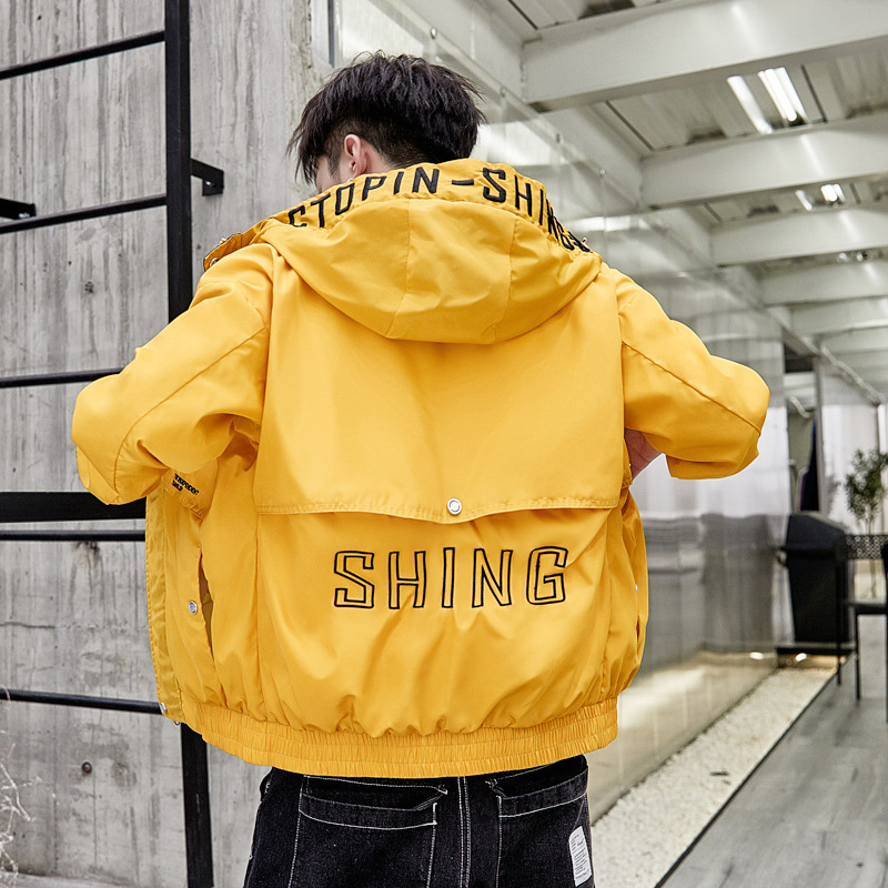 Luogen Harajuku Style Thick Mens Hoodies Japanese Streetwear Men Hoodie Hip Hop Clothes 2019 Hoody Sweatshirts