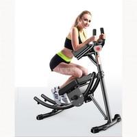 Household Arc Rail Kneeling Push Lazy Waist Abdominal Muscle Fitness Sport Equipment Loss Weight Trainer Roller Machine 299#