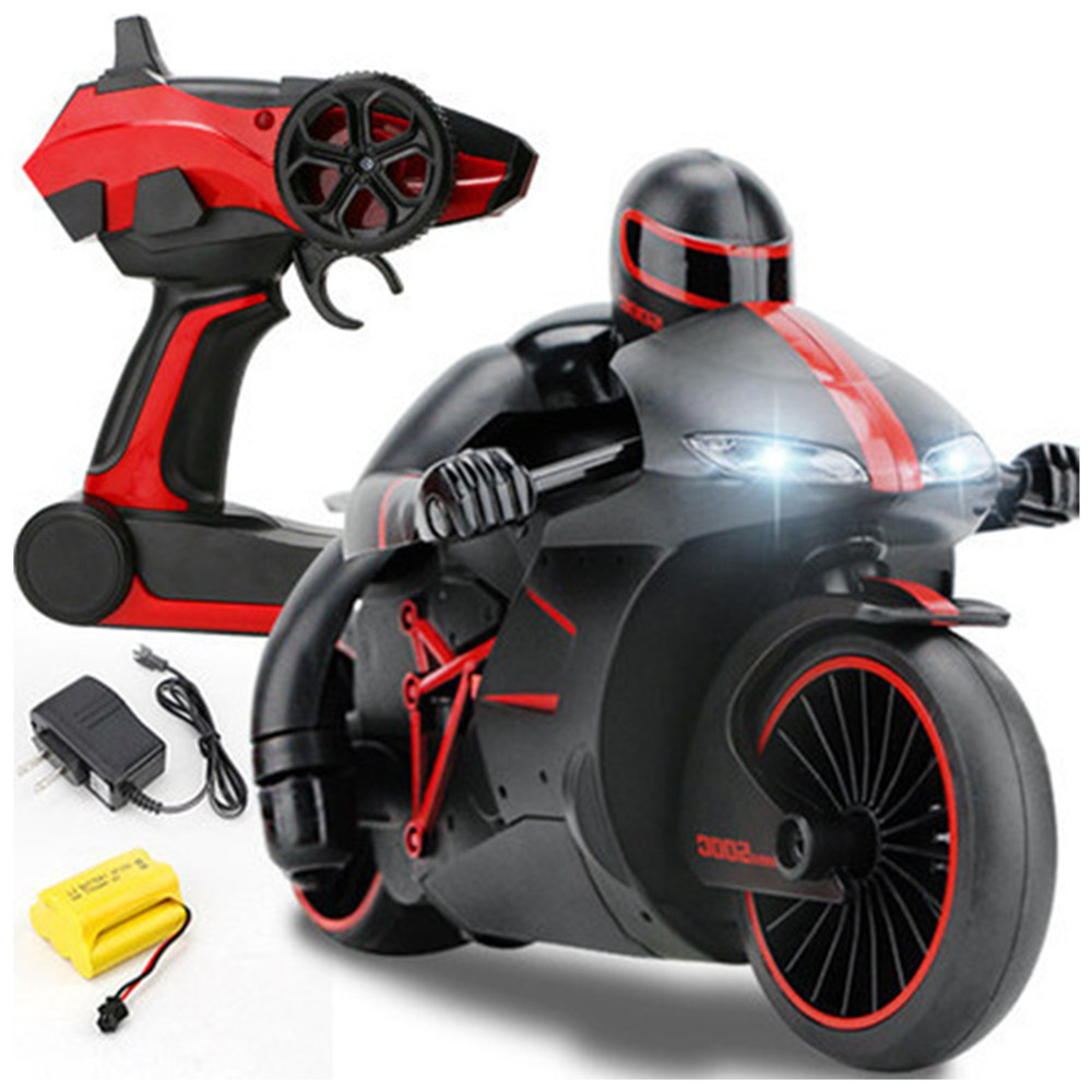 ZhengCheng 333-MT01B 2.4G 20km/h RC Motorcycle 30 Degree 24.4*12.7*14cm With Flashlight
