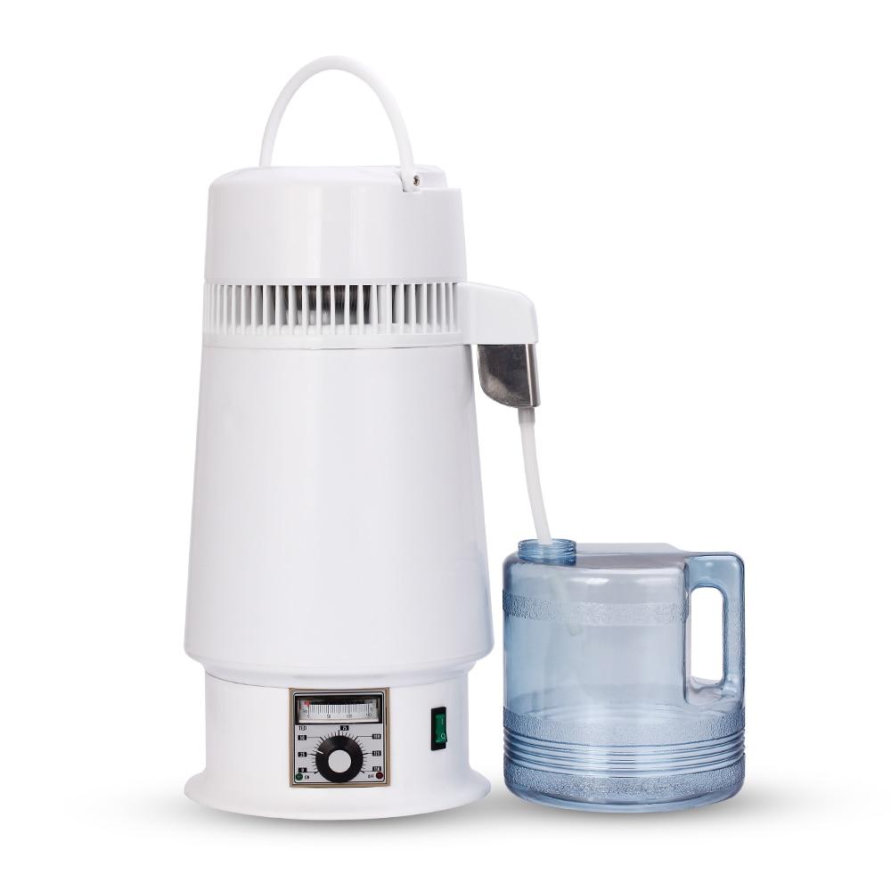 750W 4L Home Alcohol Distiller Pure Water Filter Machine 220V Distillation Purifier Dental Equipment Boiler Brewing Glass Jar - 3