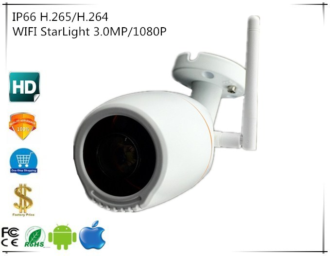 Panorama FishEye 180 Degrees 3516E C Sony IMX291 IP Camera StarLight WIFI Wireless IP66 3 0MP