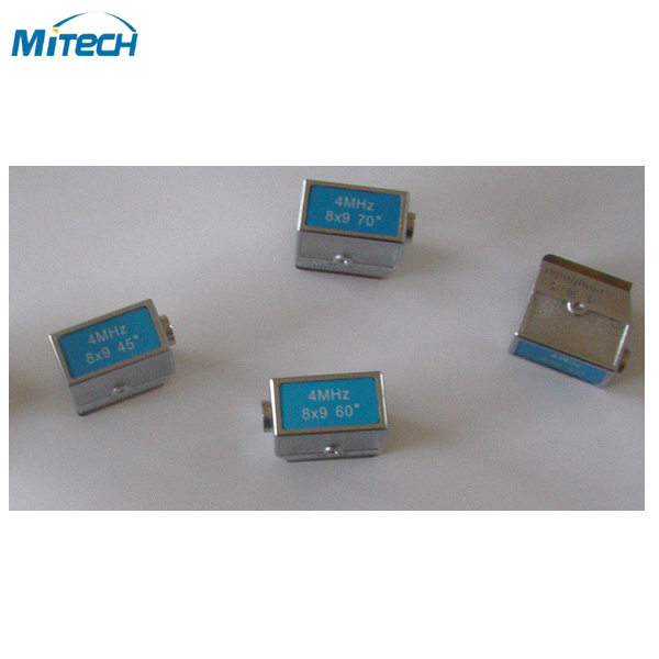 4MHz 8x9 70 Degree Angle Probe NDT Probe