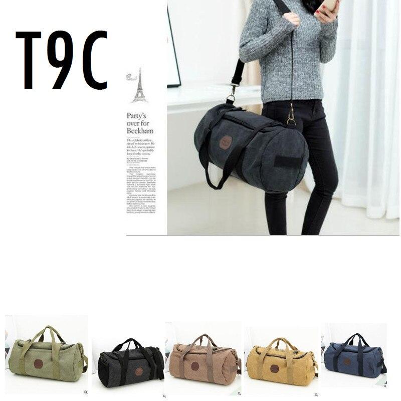 Tote Gym-Bag Fitness-Bags Handbag Training Multifunction Outdoor Sporting Woman Canvas