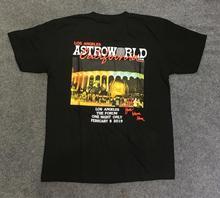 19ss ASTROWORLD Tshirt TRAVIS SCOTT Los Angeles Tee Xxxtentacion T Shirt Top