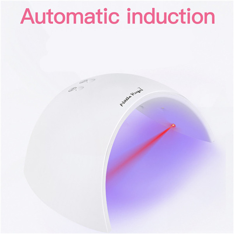 Led Lamp Nail 27W USB LED UV Nail Gel Curing Lamp Light Nail Gel For Drying Nail Polish