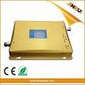 Dual band gsm wcdma amplificador de señal gsm repetidor 900 2100 2g 3g (EDGE HSPA) GSM WCDMA UMTS repetidor de señal de teléfono celular con lcd dis