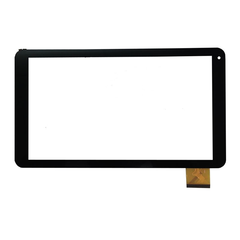 New 10.1 Tablet For HOMETECH QUAD TAB 10 Touch screen digitizer panel replacement glass Sensor Free Shipping new touch screen touch panel glass sensor digitizer replacement for 10 1 inch odys rise 10 quad tablet free shipping