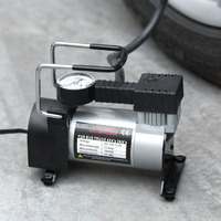 150W Air Compressor Metal DC12V 150 PSI Electric Tire Tyre Inflator Pump For Auto Bicycles Motorcycles