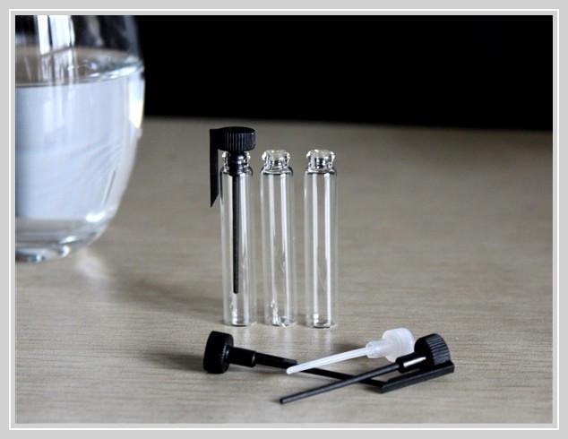 Frete Grátis 50/Lot 2 ml De Vidro Pequeno Frasco de Perfume, 2 CC Mini Testador de Frascos de Perfume de Vidro, 1 ml, 1.5 ml 3 ml Está Disponível