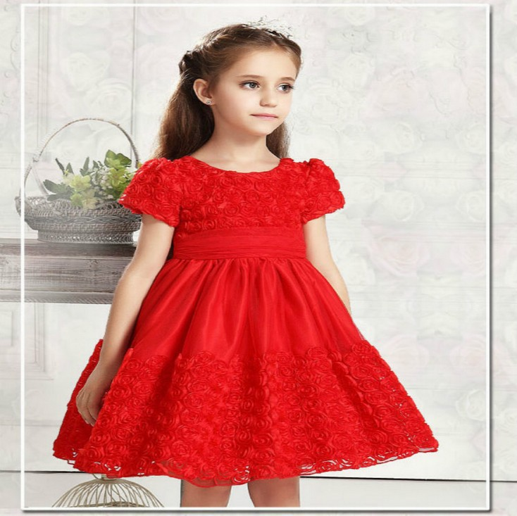 Aliexpress.com : Buy Graceful little girls party dresses toddler ...