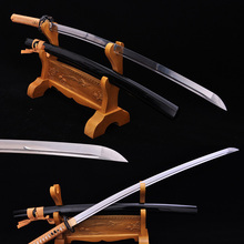 High Quality Japanese Samurai Katana Classical Sword High Carbon Steel Cut Tree