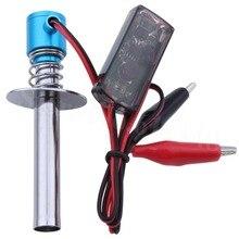 Электрические свечи свеча стартер воспламенитель для 1:8 1:10 nitro buggy грузовик RC модель автомобиля Baja Лодка Самолет Вертолет 80100 HSP