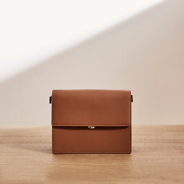 Package New Pattern Genuine Leather Single Shoulder Messenger Mini Small Square designer handbags tote vintage korean Style hot - 2