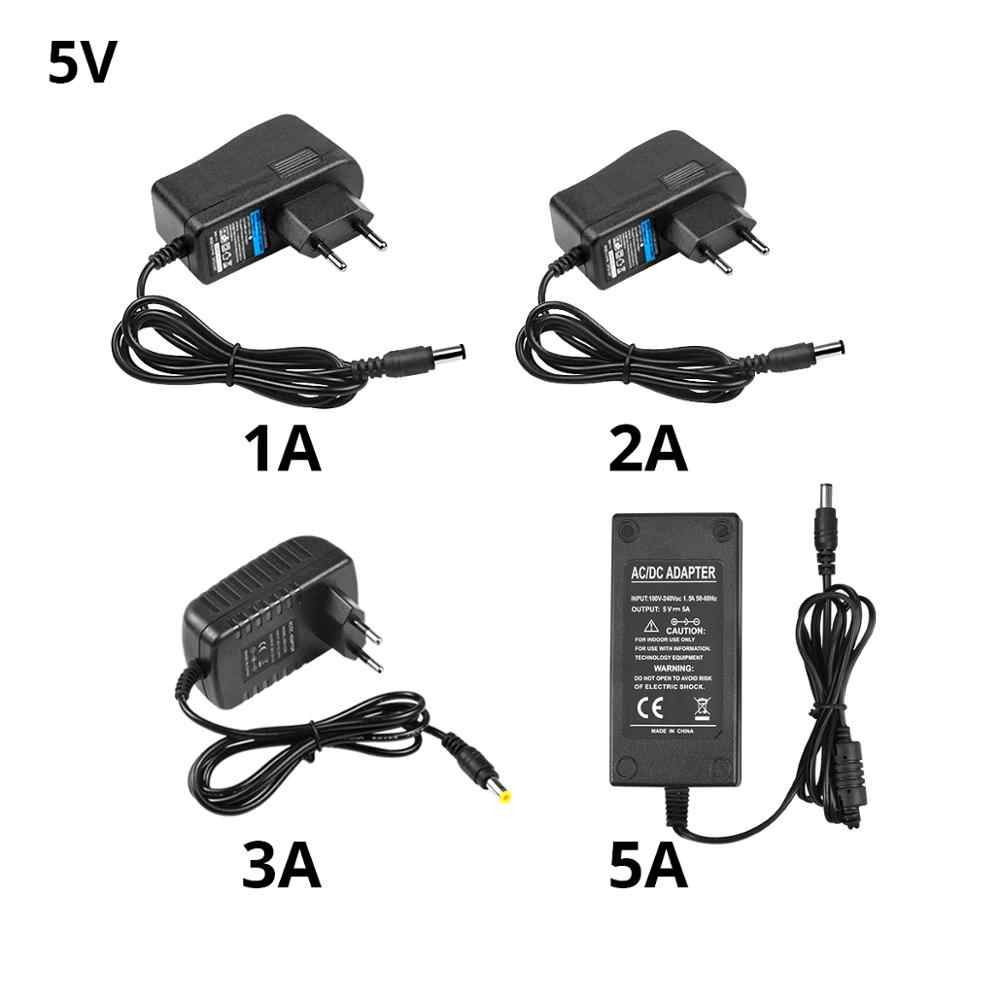 Универсальный переходник для ЕС и США, адаптер для переключения переменного тока 220-240 В до 5 в 12 В 24 В, блок питания постоянного тока 5 в 12 В 24 В 1A 2A 3A 5A, адаптер питания