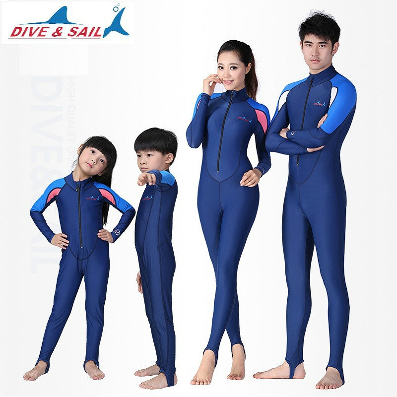 Anti UV Sun Protection Women Wetsuits Men Surfing Swimming Diving Suits Clothing Long Sleeve Swimwear One-Piece Swimming suit women surfing wetsuit athletics short sleeve swimwear woman one piece swimming suit swiming clothes diving bathing suit