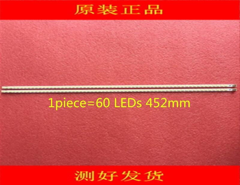 2 Pieces/lot Lj64-03567a Lta400hm08 Led Backlight Bar Sled 2011sgs40 5630 60 H1 Rev1.0_core 60 Leds 452mm
