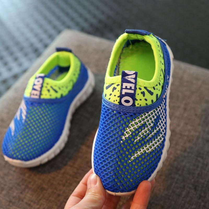 3addf3b5 2019 zapatillas deportivas informales de verano para niños y niñas zapatos  planos para correr niños zapatos