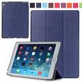 Оригинал 1:1 Кожаный Чехол Funda Для Apple iPad Pro 9.7 7-дюймовый Планшетный Стенд Флип Случаи Защитная Крышка + пленка + stylus