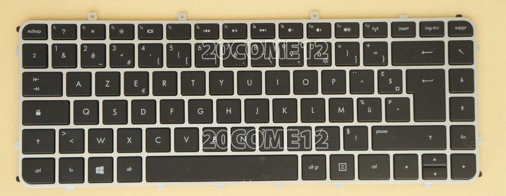 New notebook Laptop keyboard for  HP Envy 4-1000 6-1000 backlit Fr / french  layout laptop keyboard for hp for envy 15 k000 black with backlit ef canada england