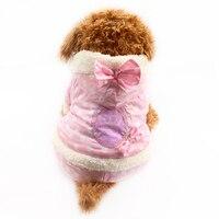 Armi Store White Dot Pattern Warm Winter Dog Jumpsuits Dogs Coat 6141002 Pet Clothes Supplies