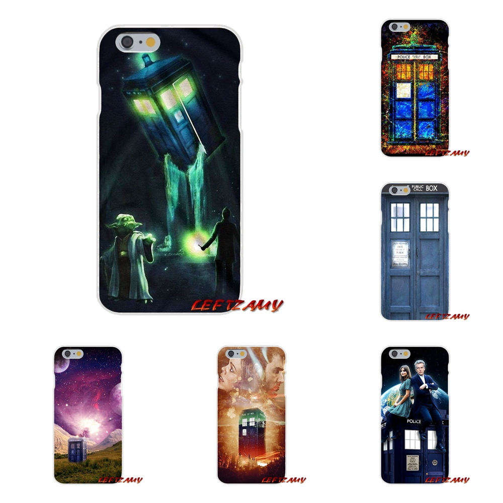 Half-wrapped Case Popular Brand For Samsung Galaxy S3 S4 S5 Mini S6 S7 Edge S8 S9 Plus Note 2 3 4 5 8 Cell Phone Cases Cover Hot Tardis Doctor Dr Who Police Box