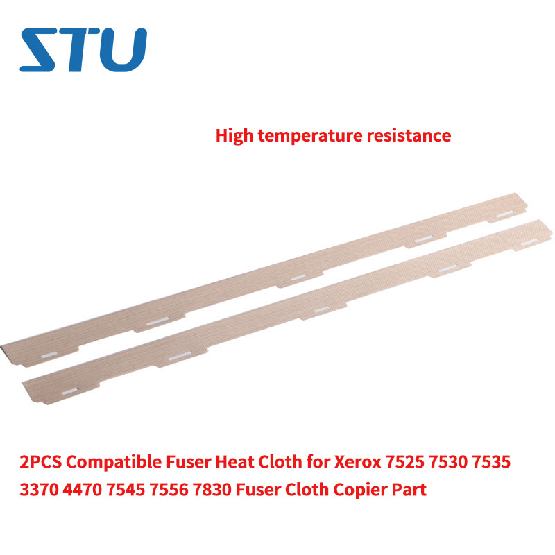 2PCS New High temperature resistance Fuser Heat Cloth for Xerox 7525 7530 7535 3370 4470 7545