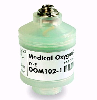 OOM-102-1 oxygen battery Applied to Drager, Mustang, Hamilton, Newport, Chenwei