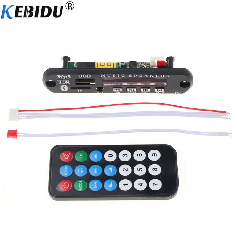 Elistooop Dc 5 V 12 V Wireless Mp3 Wma Decoder Board Audio Modul Usb Tf Radio Auto Musik Mp3 Für Auto Zubehör Preisnachlass Tragbares Audio & Video