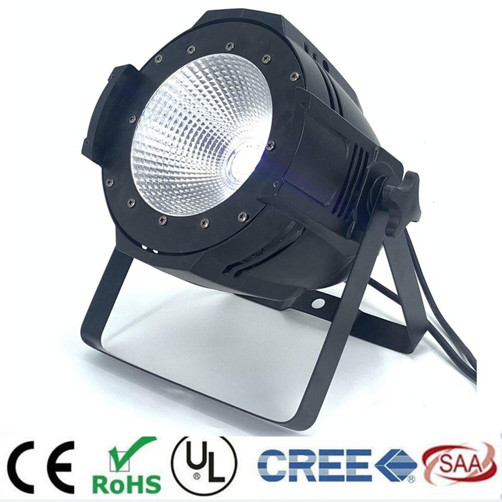 LED par 200 W COB RGBWA UV 5in1/RGBW 4in1/rvb 3in1/blanc froid chaud LED UV Par Par64 LED projecteur lumière dj