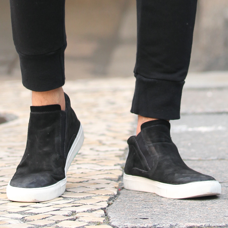 Retro Cowhide Men Casual New Shoes Black Casual Sportswear Shoes Men Brand High Quality Comfortable Shoes X608 сабвуфер автомобильный mystery mbb 252a